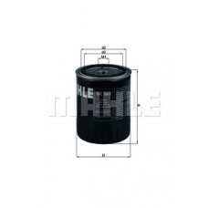 Filter ulja VW/Audi Golf III 1,9TDI
